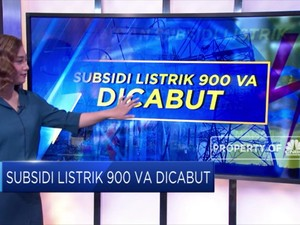 Subsidi Listrik 900 VA Dicabut