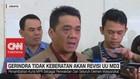 VIDEO: Gerindra Tak Keberatan Akan Revisi UU MD3