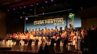 Kamer Youth Choir Tampil Memikat di Acara PICF BPK Penabur