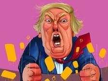 Trump Makin Sengit, Harga Emas Semakin Melangit