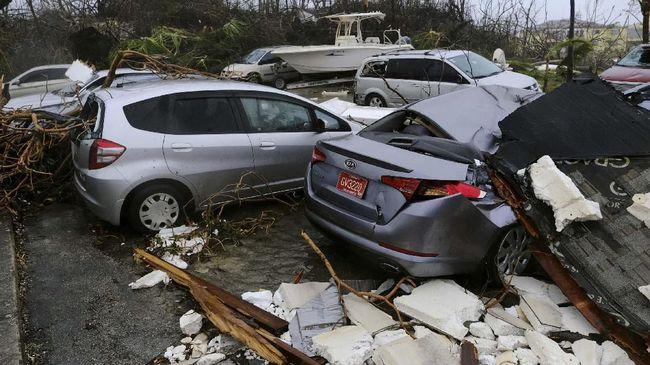 Listrik Ratusan Ribu Rumah di AS Putus Akibat Badai Dorian