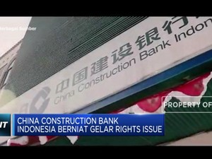 China Construction Bank Indonesia akan Tambah Modal
