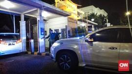 Prabowo Sambangi Kediaman Hendropriyono