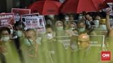 Secara daring, telah muncul pula petisi di situs Change.org yang mendesak Presiden RI Joko Widodo untuk menolak rencana perubahan UU KPK. (CNNIndonesia/Adhi Wicaksono)