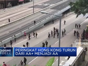 Fitch Rating Pangkas Peringkat Utang Hong Kong