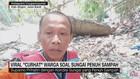 VIDEO: Viral 'Curhat' Warga Soal Sungai Penuh Sampah