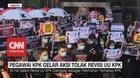 VIDEO: 1.000 Pegawai KPK Gelar Aksi Tolak Revisi UU KPK