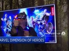 Keseruan Dunia Marvel dalam Teknologi AR