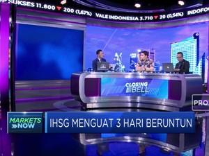 Optimisme Pasar Menguat, IHSG Ditutup Ke Zona Hijau