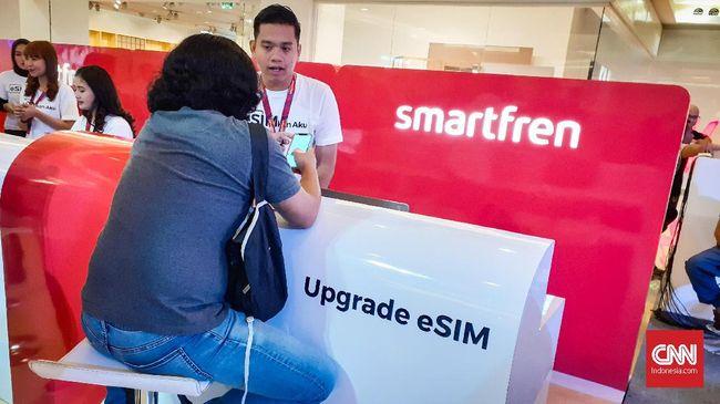Operator Lain Belum Minat Ikuti Smartfren Sediakan eSIM