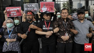Bagi Bunga di CFD, KPK Minta Jokowi Tak Tanda Tangan RUU KPK