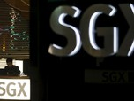 AS-China Masih Aja Gelap, Bursa Singapura Stagnan!