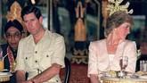 Pada 15 September 1984, Putri Diana melahirkan anak keduanya dengan Pangeran Charles, Pangeran Harry. (KAZUHIRO NOGI / AFP FILES / AFP)