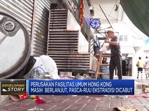 RUU Ekstradisi Dicabut, Demo Hong Kong Belum Berhenti