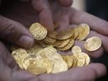 Harga Emas Dunia Tembus Rekor, Cek Koin Dinar Hari Ini
