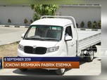 Presiden Jokowi Resmikan Pabrik Esemka