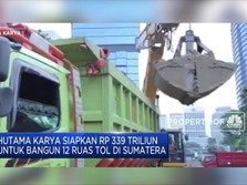 3 Ruas Tol di Sumatera Beroperasi Akhir Tahun 2019