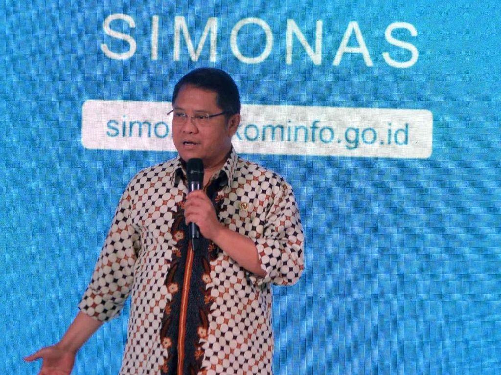 SIMONAS adalah Platform untuk mempertemukan demand dan supply sebagai upayanya melengkapi ekosistem yang sudah ada selama ini. SIMONAS menjadi sebuah solusi kebutuhan dan ketertinggalan kebutuhan talenta digital di Indonesia. Foto: dok. Kemenkominfo