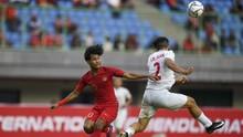 Timnas Indonesia U-19 Unggul 3-0 atas China di Babak Pertama