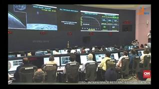 VIDEO: Misi ke Bulan Hilang Kontak, Ilmuwan India Cemas