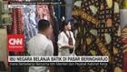 VIDEO: Ibu Negara Belanja Batik di Pasar Beringharjo