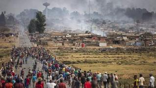 FOTO: Xenofobia Hantui Afrika Selatan