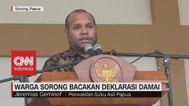 VIDEO: Warga Sorong Bacakan Deklarasi Damai