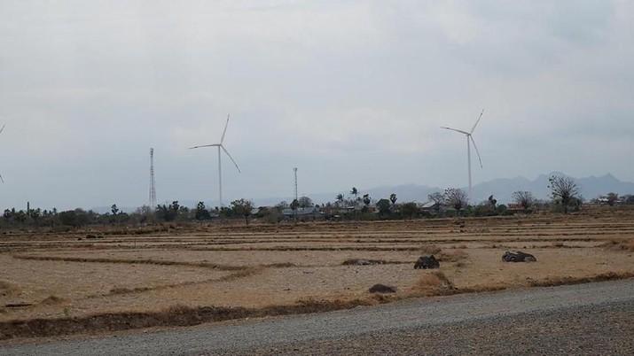 Seperti Eropa, Ini Penampakan Kebun Angin Terbesar Kedua RI