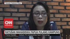 VIDEO: Ratusan Mahasiswa Papua Pulang Kampung