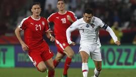Demi Anak, Matic Tunggu Ronaldo Usai Laga Serbia vs Portugal