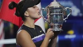 Kalahkan Serena, Andreescu Juara Grand Slam US Open