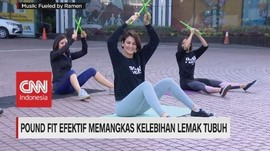 VIDEO: Yuk, Bakar Kalori dengan Pound Fit !