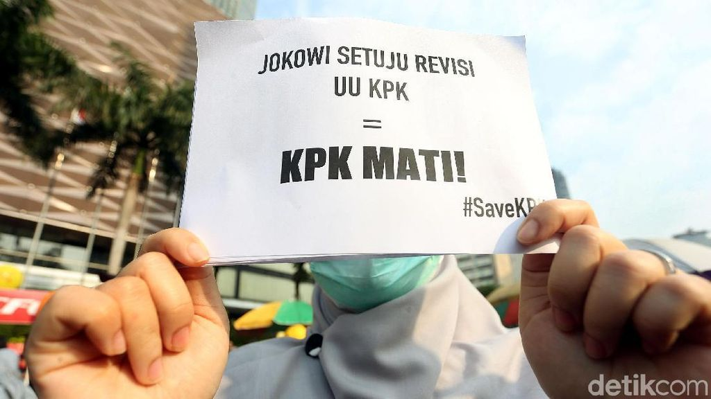 Super Kilat, Ini Kronologi 13 Hari DPR-Jokowi Revisi UU KPK
