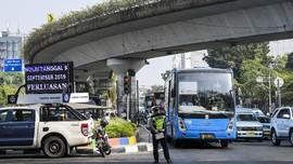Dampak Ganjil Genap DKI: Laju Kendaraan Naik 8 Km/Jam