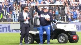 VIDEO: Tangis Maradona Jadi Pelatih Klub Argentina