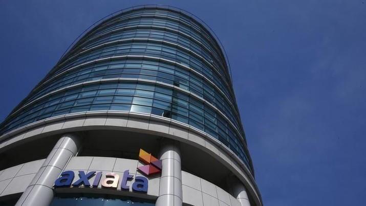 Kantor pusat Axiata di Malaysia/REUTERS/Samsul Said/Files