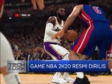 Game NBA 2KI20 Resmi Dirilis