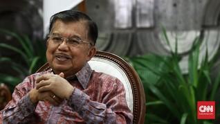 Jusuf Kalla dan Sepenggal Cerita Liputan di Istana Wapres