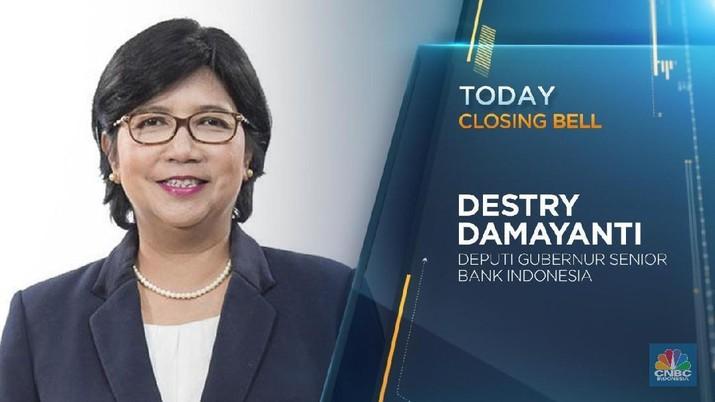 Simak wawancara khusus CNBC Indonesia dengan Deputi Gubernur Senior BI Destry Damayanti.