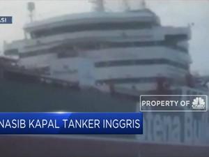 16 Awak Kapal Tanker Inggris Menunggu Dibebaskan
