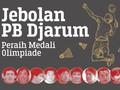 INFOGRAFIS: Jebolan PB Djarum Peraih Medali Olimpiade