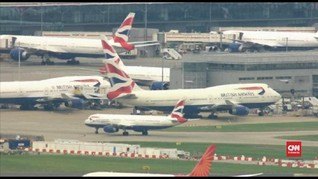 VIDEO: Pilot Mogok, British Airways Batalkan Penerbangan