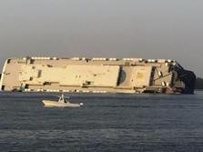 Kapal Kargo Korsel Terbalik di Perairan AS, 4 Orang Hilang