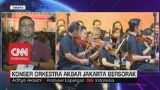 VIDEO: Konser Orkestra Akbar Jakarta Bersorak