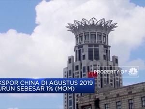 Volume Ekspor China Merosot