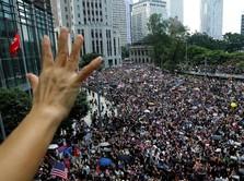 Pendemo Minta Tolong AS, Hong Kong: Jangan Ikut Campur!