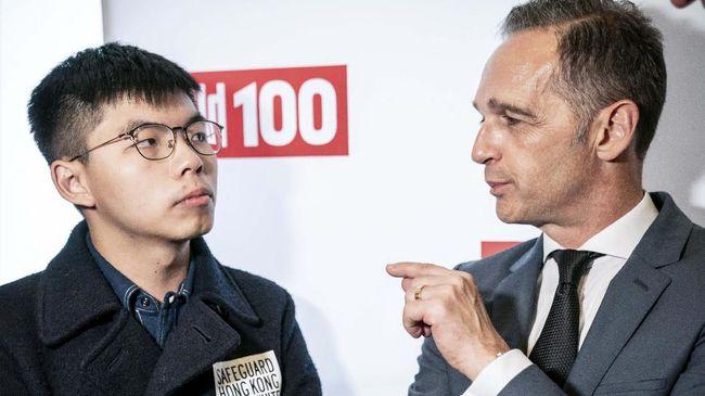 China Marah Besar Menlu Jerman Bertemu Aktivis Hong Kong