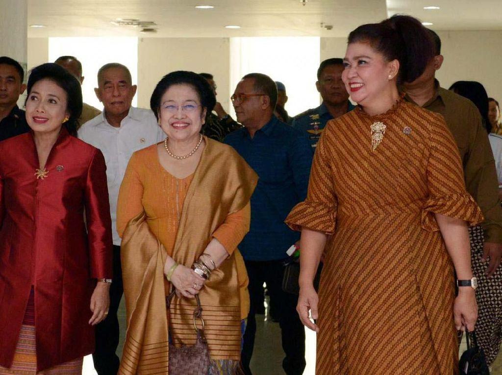 Untuk kesekian kalinya Kementerian Pertahanan menjadi tuan rumah Rapat Kerja Nasional Dewan Kerajinan Nasional (Rakernas Dekranas). Pool/Kemhan.