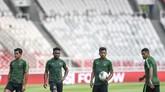 Timnas Indonesia bisa tampil dengan kekuatan terbaik untuk pertandingan melawan Thailand. Sejauh ini tidak ada pemain Skuat Garuda yang mengalami cedera. (ANTARA FOTO/Hafidz Mubarak A/ama)