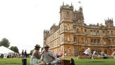 Episode pertama serial televisi Downton Abbey tayang pada 2010, bertahan sampai tahun 2015. (Photo by Isabel INFANTES / AFP)